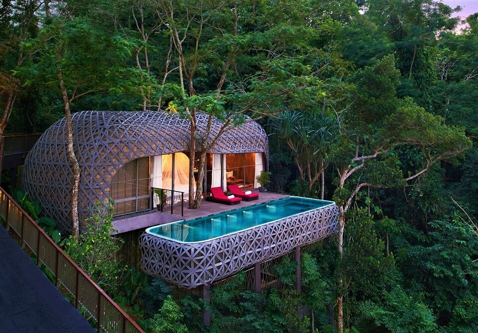 Phuket, Keemala, Bird's Nest Pool Villa