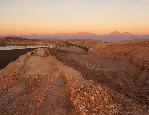 Chile - widok na góry